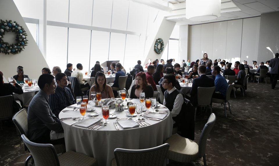 John Marshall High School Students Get View From The Top In Oklahoma