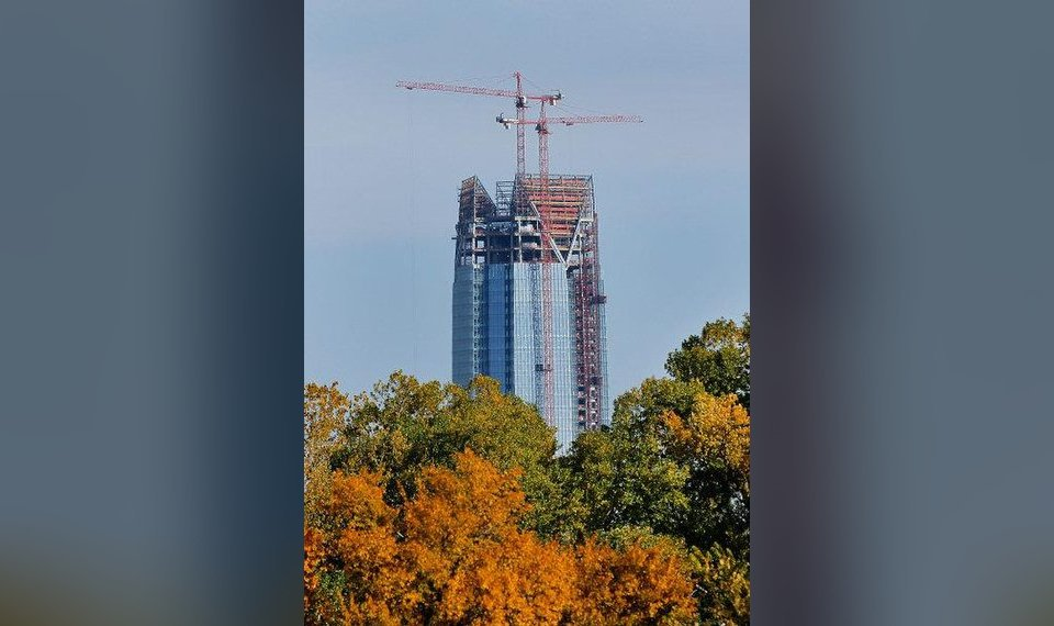 buildings under construction not particularly susceptible to