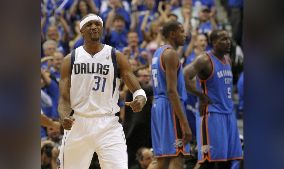 41c90e967c5 Related Photos Jason Terry (31) of Dallas reacts in front of Oklahoma  City s Kevin Durant (