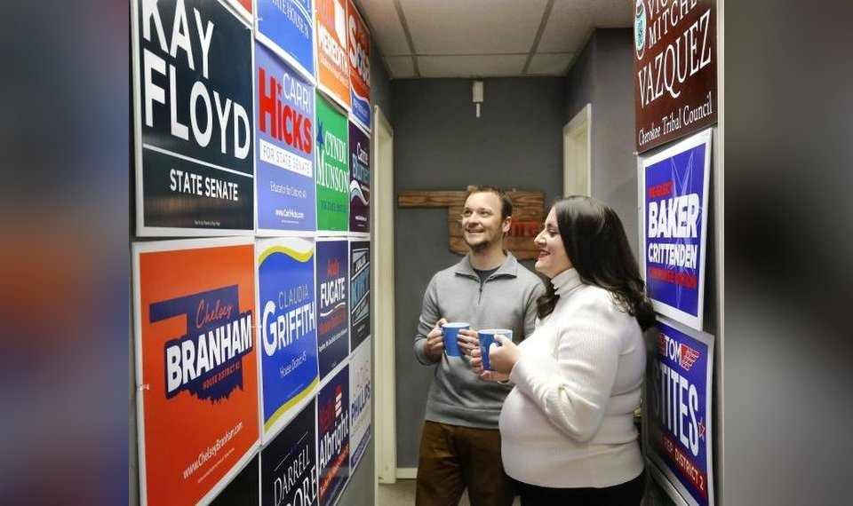 Campaign shop part of Democratic success stories in OKC 101d8e9163bf