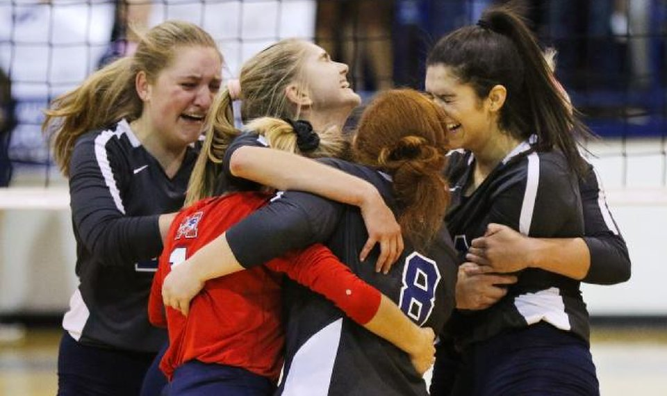 Class 4A-3A volleyball: Top-seeded Metro Christian rallies in fifth...