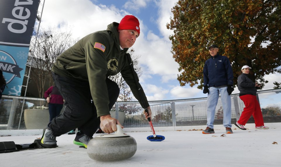 Curling Lessons Throw Some For A Loop