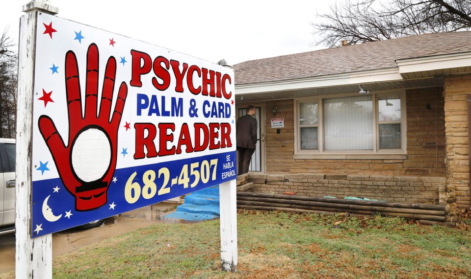 OKC psychic charged with rare fortune telling offense