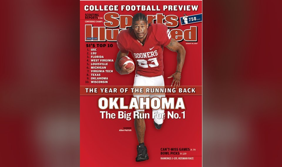 OU's Patrick to appear on Sports Illustrated cover