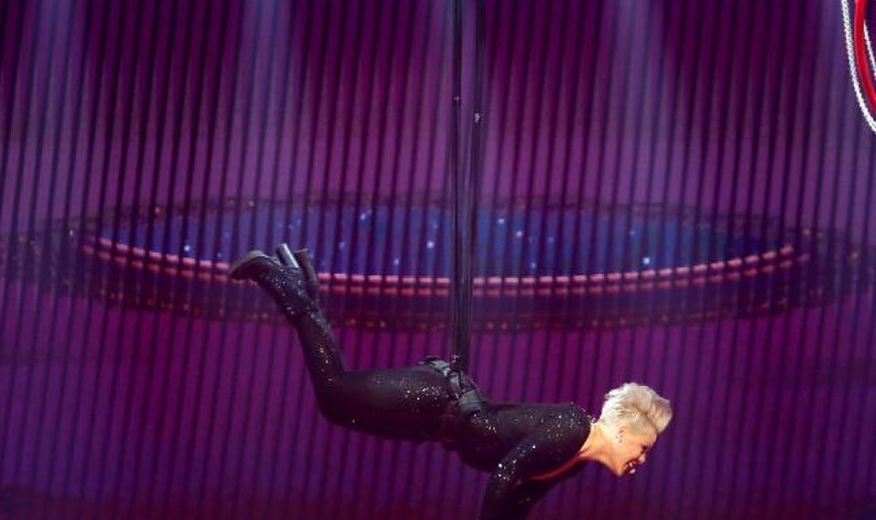 Concert review: Pink flies high in Oklahoma City debut