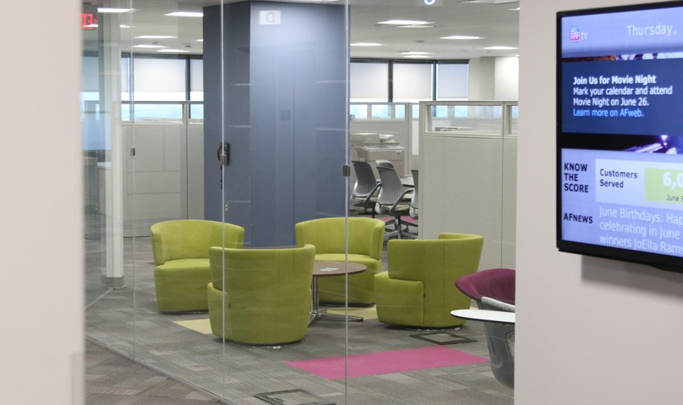Super Open Offices In Oklahoma City Foster Collaboration Save Costs Home Interior And Landscaping Ponolsignezvosmurscom