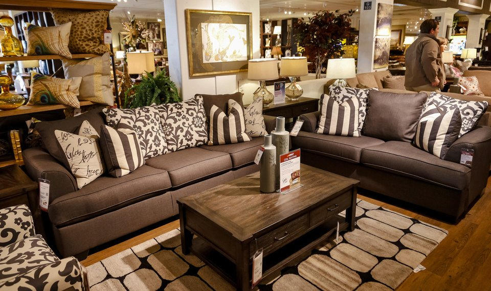 The Showroom At Mathis Brothers Furniture On Friday, Nov. 8, 2013, In