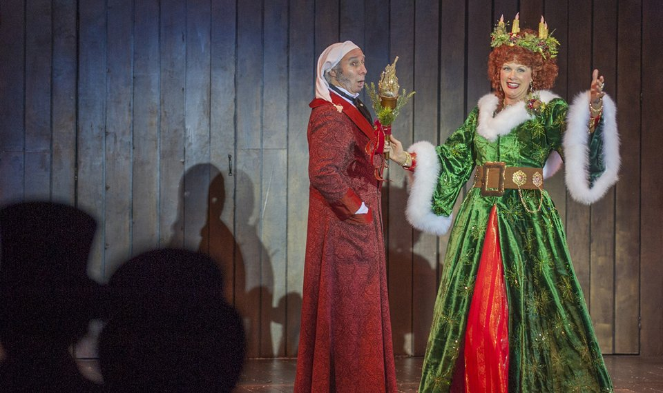 Ghost Of Christmas Present Costume.Lyric Theatre S Christmas Carol To Bring Theatrical Magic