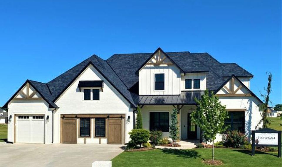 Stonewall Homes built this home at 3701 Traditions Trail, Norman, for the Festival of Homes, which continues Friday-Sunday with new homes open to the public from  1 to 7 p.m. each day. [PHOTO PROVIDED BY BASCO]
