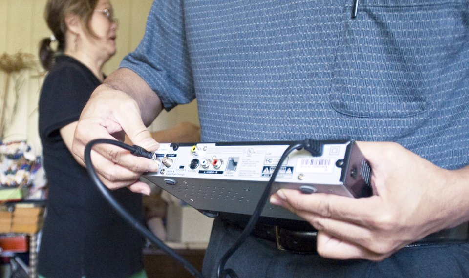 VHF channels interfering with digital TV changeover