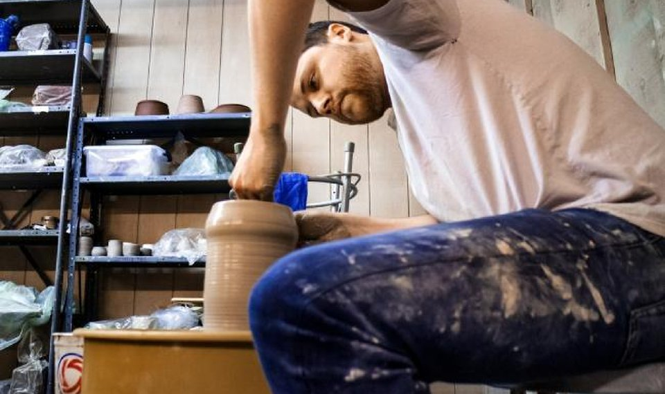 The potter's career field: OKC native creates business out of clay