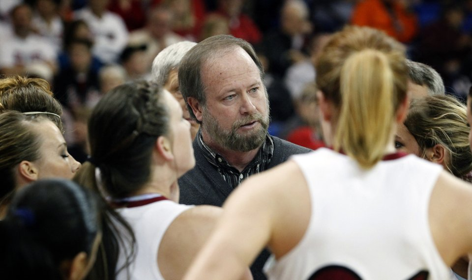weatherford head coach rick wilson speaks to his team during a timeout during the class 4a