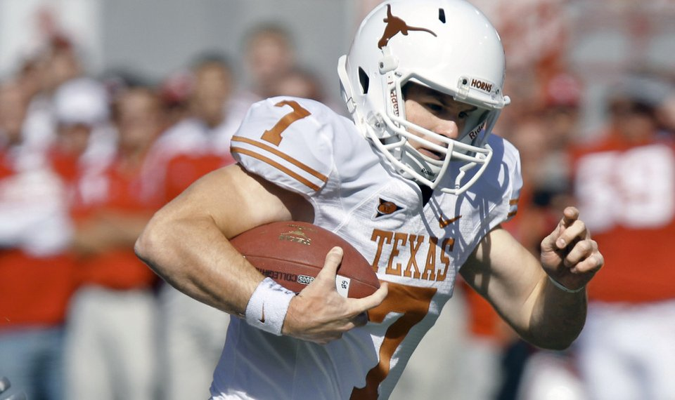 Gilbert Adds Spark To Texas Running Game
