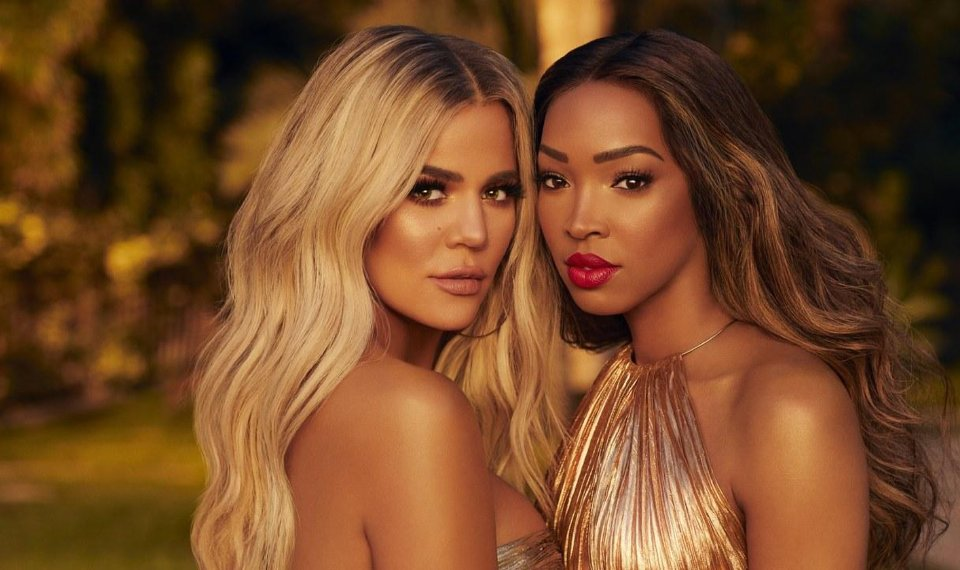 khloe kardashian and her bff inspire becca makeup collection