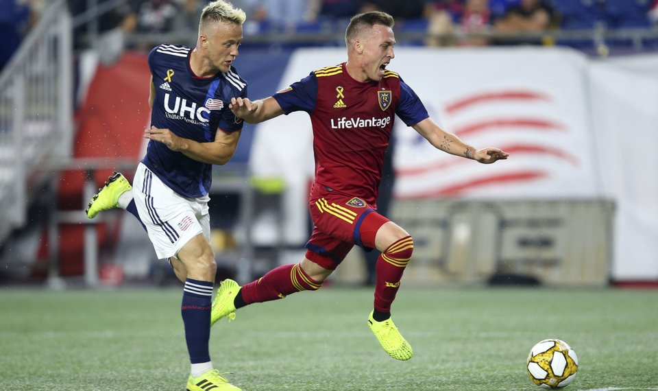 quality design 53d49 cf1a9 Revs record 12 shots in 0-0 draw against Real Salt Lake