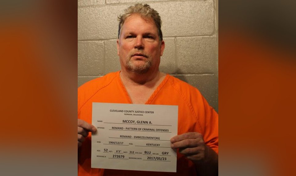 Contractor sentenced in Cleveland County embezzlement case