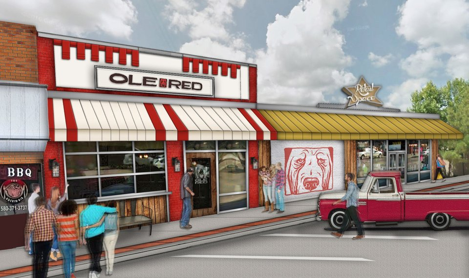 This Artist S Drawing Shows What Ole Red In Tishomingo Will Look Like Ilration Provided