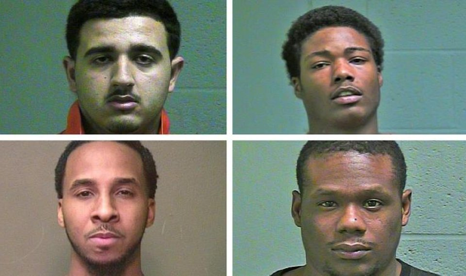 Four inmates charged in Oklahoma County jail death