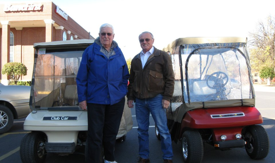Driving golf carts on streets becoming trend in Hobart on street signs, street atv, street go cart, harley carts, street shoes, custom ezgo industrial carts, cricket carts,