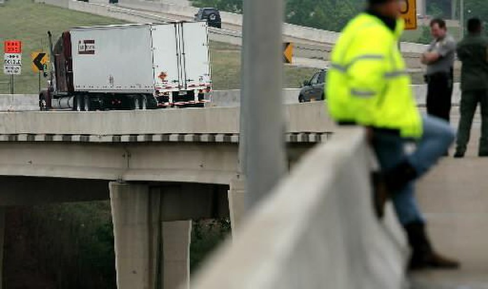 Explosives were aboard semitrailer rig involved in accident