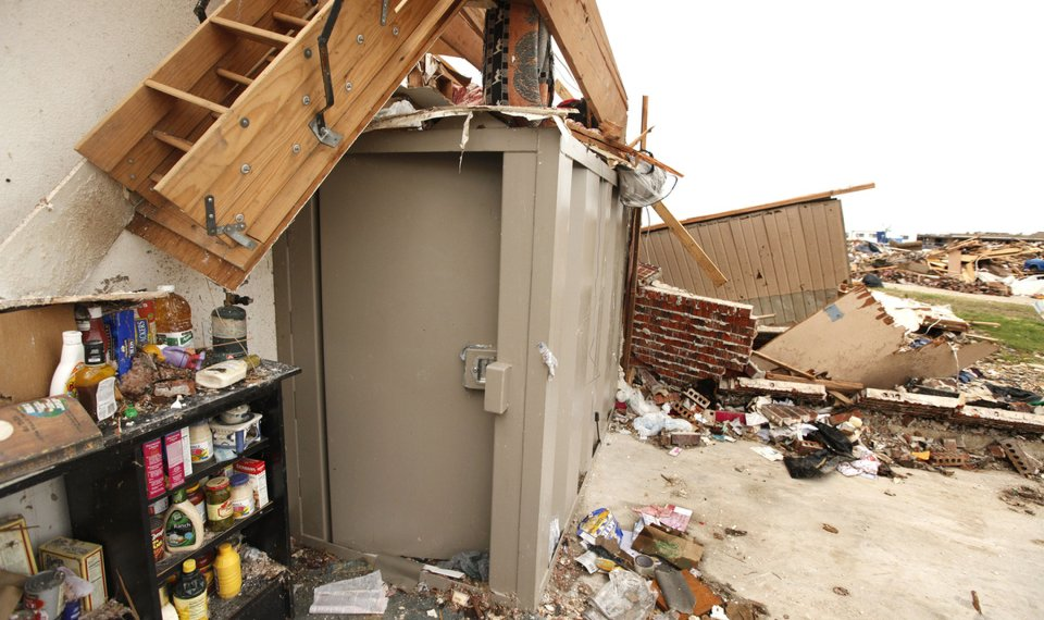 Oklahoma Tornadoes: Aboveground Shelters Stood Up In Face Of EF5 Moore  Tornado