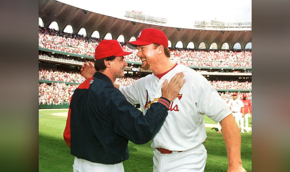 Mark Mcgwire Reunites With Tony La Russa Will Coach Hitters For St Louis Cardinals