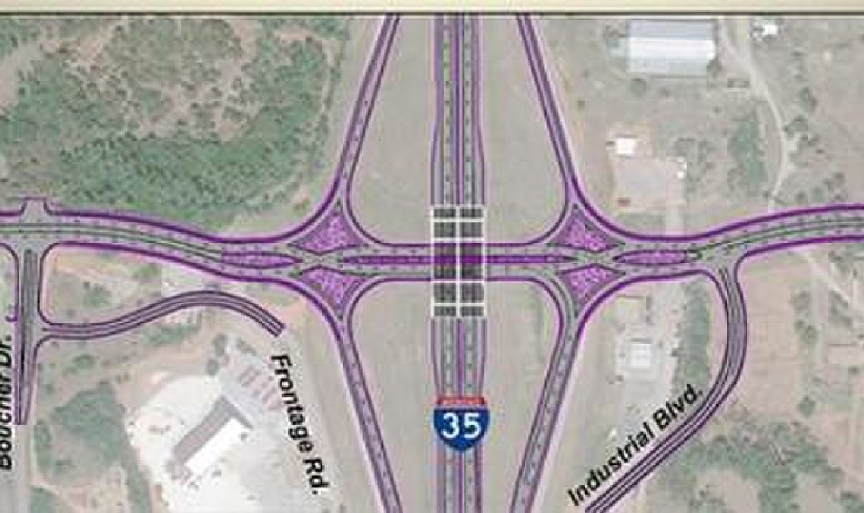 Elk City To Get State S First Diverging Diamond Interchange