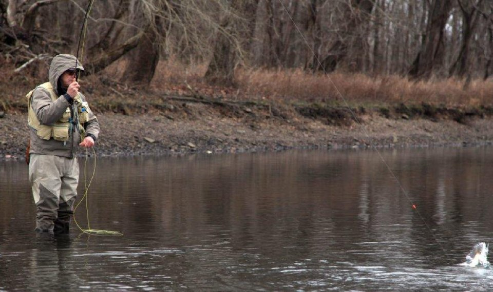 AN UNCERTAIN FUTURE: Summertime trout fishing on Lower