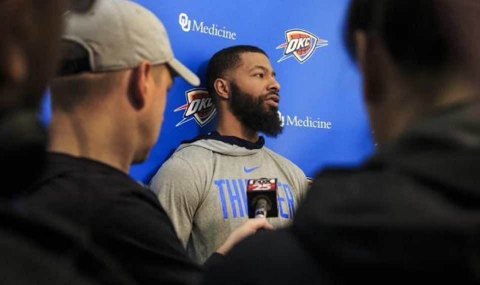 Markieff Morris is unlikely to re-sign with the Thunder in free...