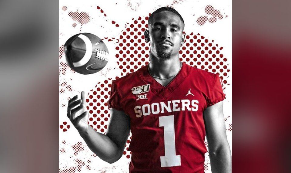 premium selection 9d070 be358 OU football: Jalen Hurts is the same quiet, old soul to all ...