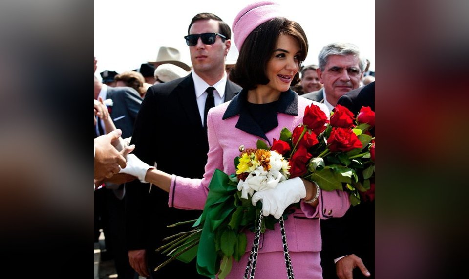Katie Holmes will reprise Jackie O role