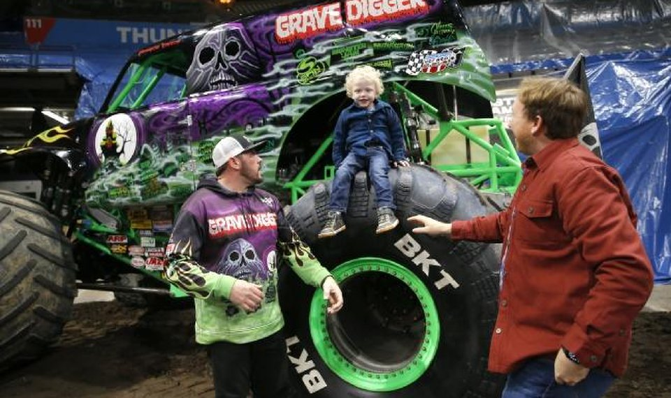Monster Jams Yukon Boy Surprised With Monster Truck Experience