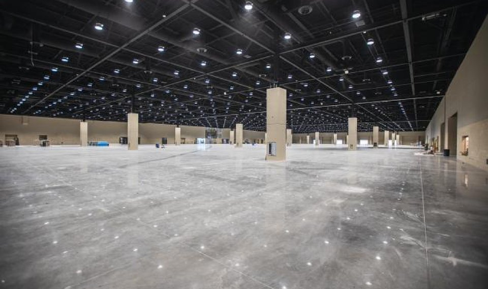 Video: Watch convention center progress in downtown OKC