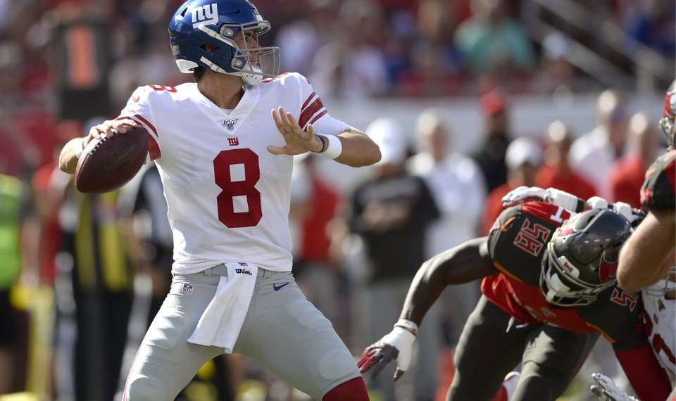 separation shoes 941d0 371f8 NFL ICYMI: Maybe the Giants found a new QB in Daniel Jones