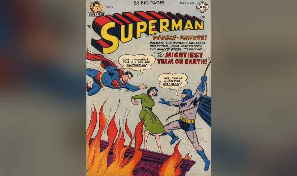 17f70e3c92f0 76 featured the first meeting of Superman and Batman.
