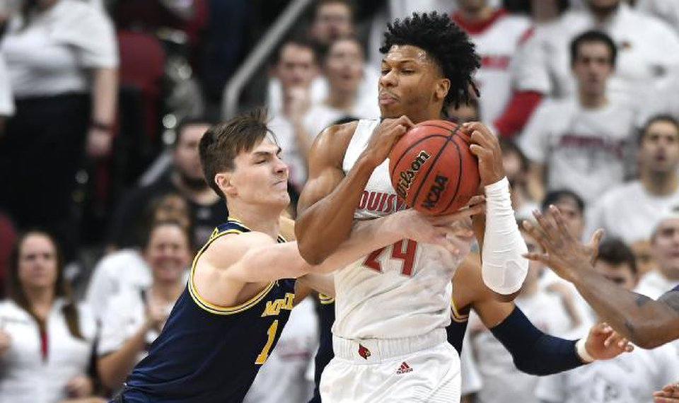College Basketball Notebook Top Ranked Louisville