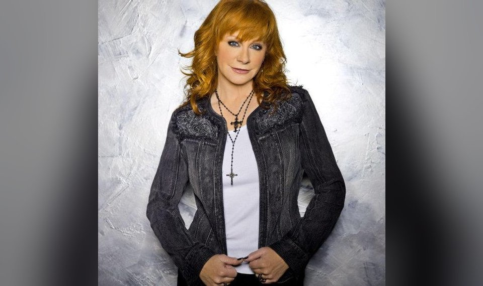 010dd52d68 Reba McEntire wears an embellished denim jacket from the Reba line. Photo  provided.