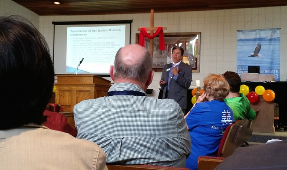 Oklahoma Methodists continue dialogue with American Indians