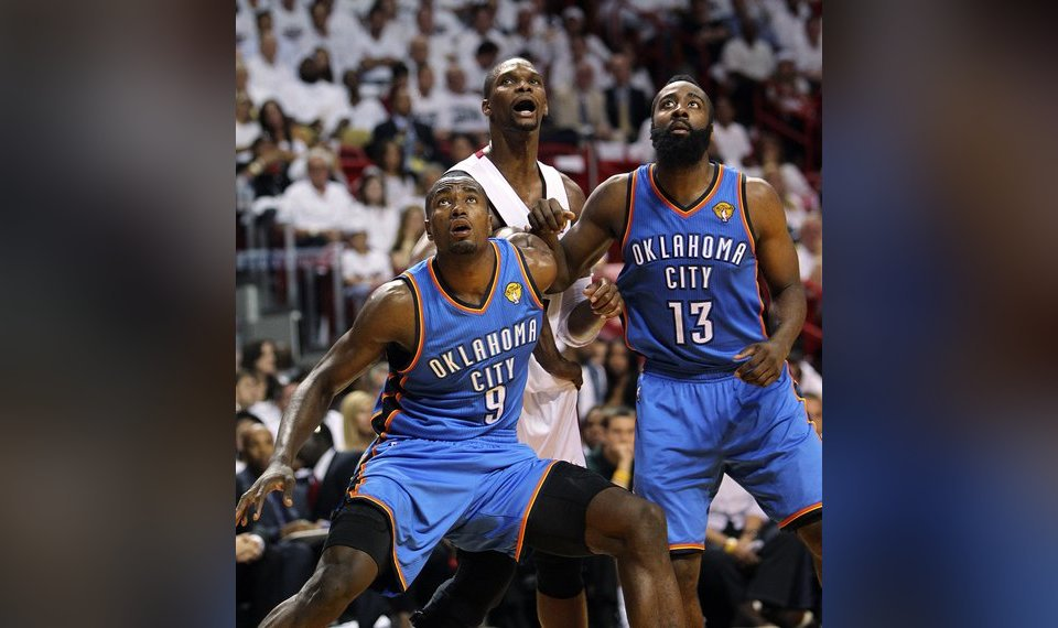 With Serge Ibaka In The Fold Thunder S Focus Turns To James Harden