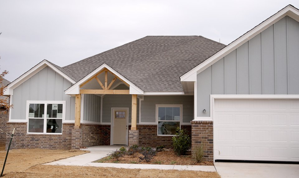 Authentic Custom Homes is building this home at 12916 Firerock Circle in The Porches at Ponderosa