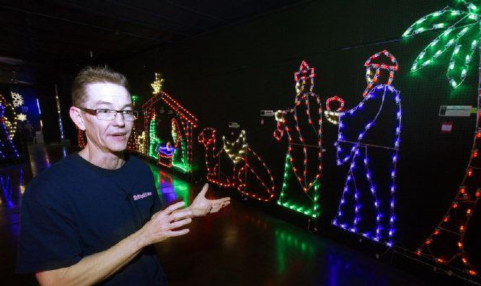 Related Photos Eric Martin president of Holiday Lighting Specialists in Tonkawa talks about the high-  sc 1 st  NewsOK & Holiday spirit glows brightly at Tonkawa company