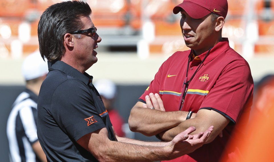 Why osu provided a blueprint to iowa state and how the cyclones matt campbell right has made big strides at iowa state as the cyclones are malvernweather Image collections