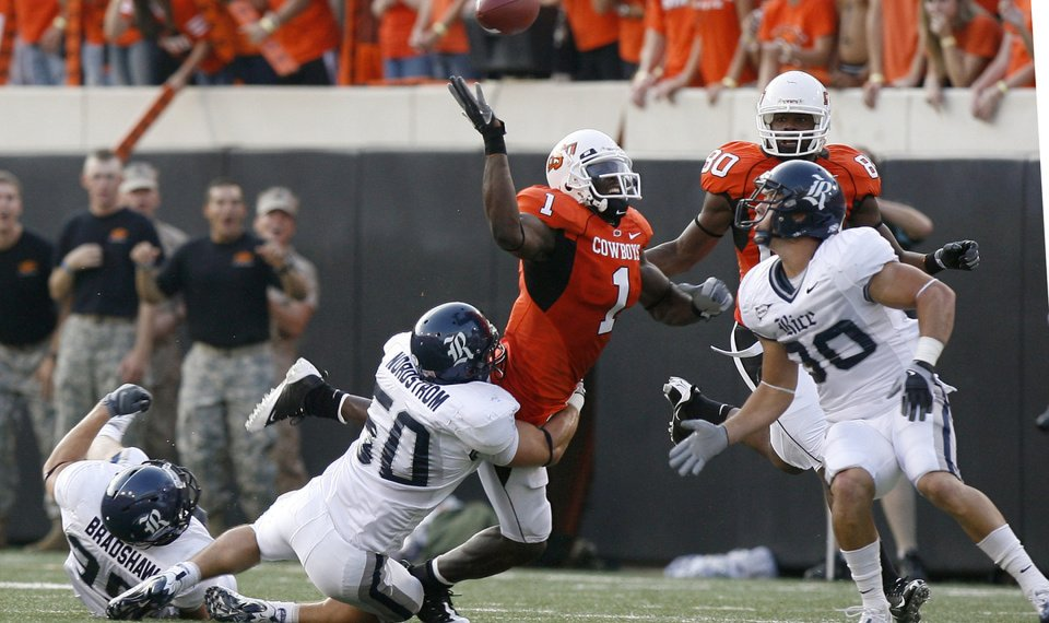 Oklahoma State S Dez Bryant Perrish Cox All Or Nothing On