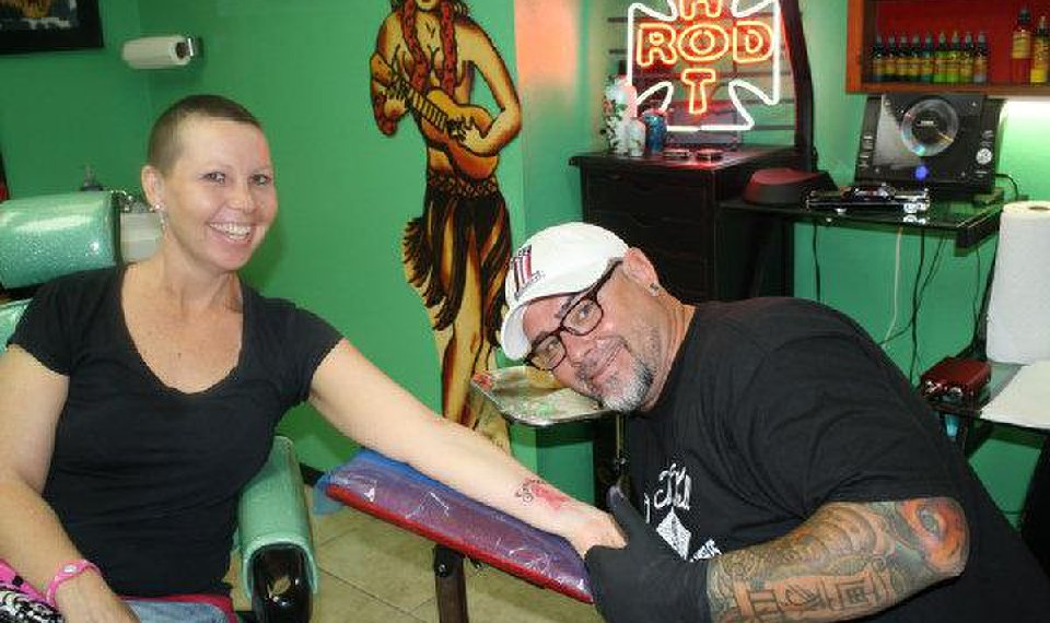 Tattoo Artists Offer A Permanent Show Of Cancer Research Support