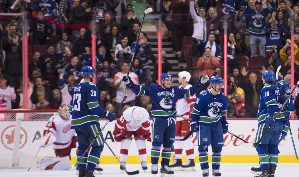 Pettersson Scores In Return From Injury Canucks Beat Wings