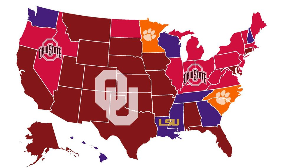 OU football: Sooners have most support in College Football Playoff...