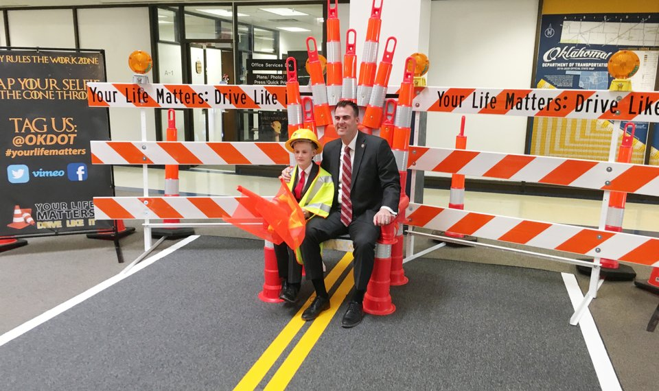 Officials Launch Game Of Cones Work Zone Safety Campaign