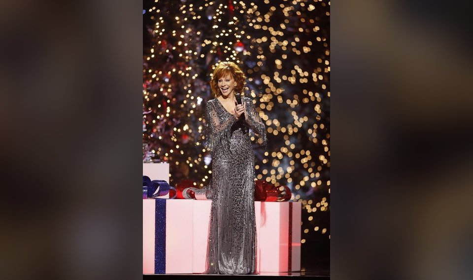 related photos reba mcentire performs at the cma country christmas taping at curb center in nashville tennessee - Country Christmas