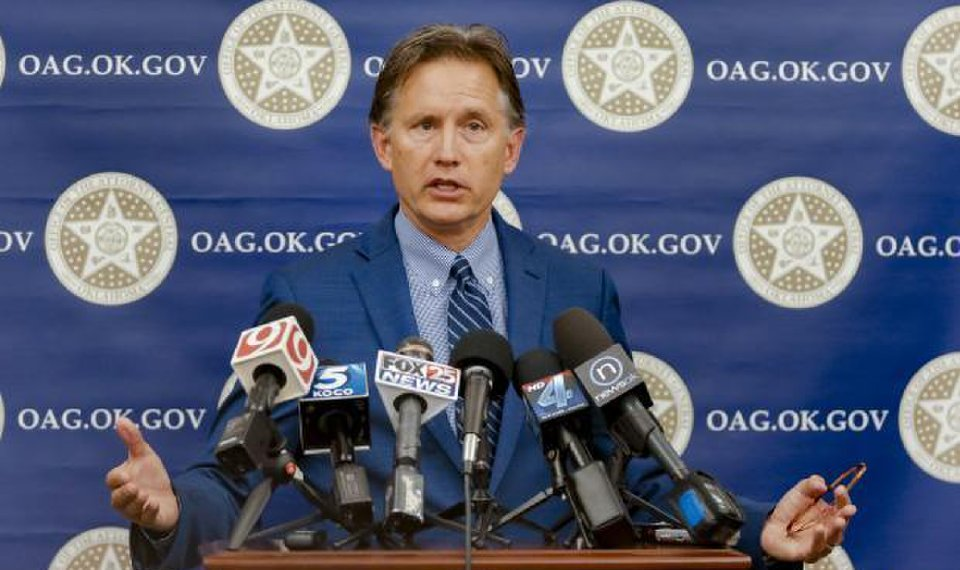 Oklahoma attorney general sues pharmaceutical companies