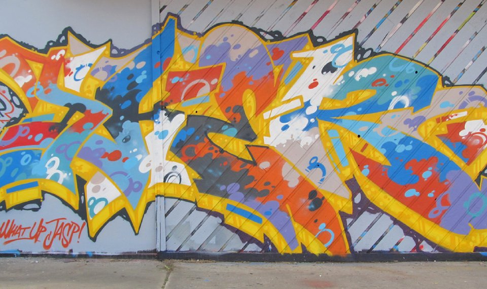 An Excerpt From A Mural By Tulsa Graffiti Artist Chris Sker Photo Provided By